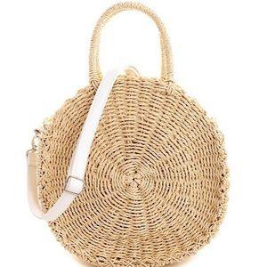 Handbags - Dorothy Woven Bag- Beige